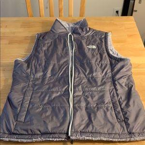 The North Face women's reversible vest